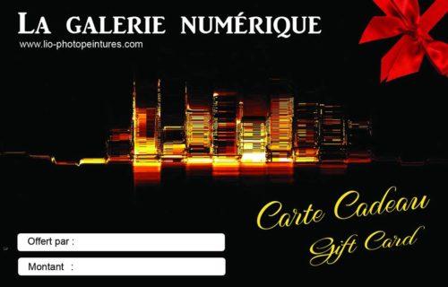 Carte cadeau Lio Photopeintures
