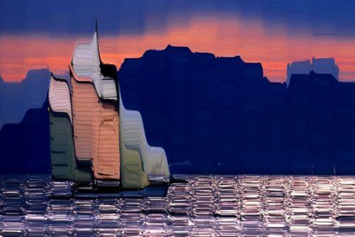 Le rivage Lio-Photopeintures