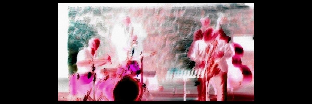 Bop Les musiciens Lio photopeintures